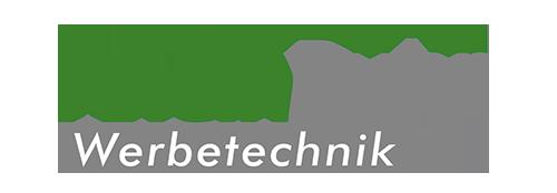 RheinRuhr Werbetechnik Logo grün grau